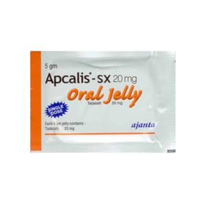Tadalafil – Apcalis SX Oral Jelly