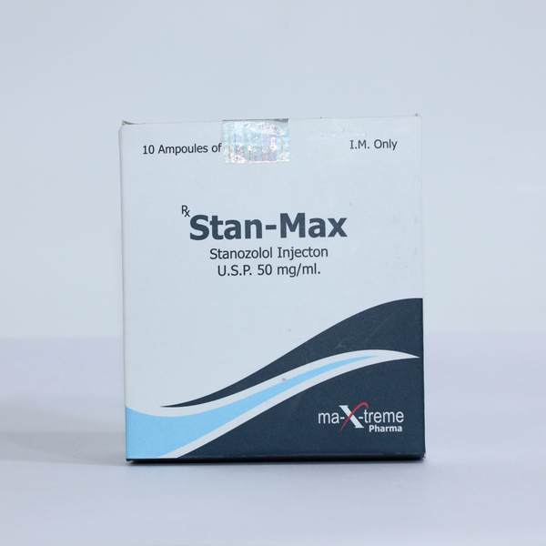 Stanozolol injection (Winstrol depot) – Stan-Max