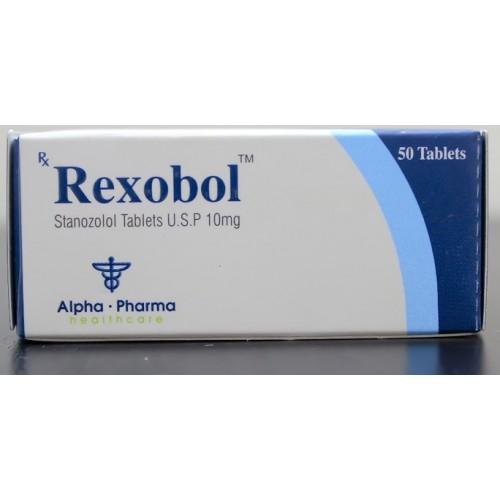 Stanozolol oral (Winstrol) – Rexobol-10