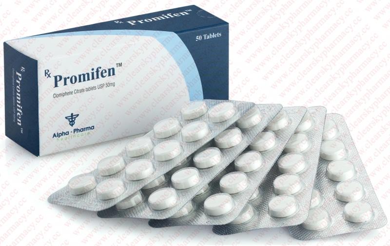 Clomiphene citrate (Clomid) – Promifen