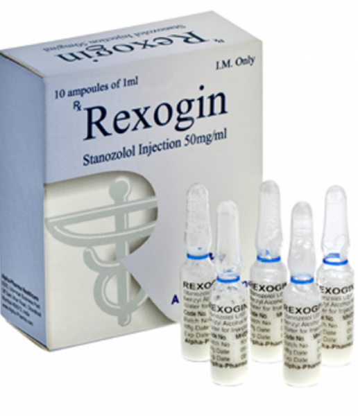 Stanozolol injection (Winstrol depot) – Rexogin