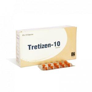 Isotretinoin  (Accutane) – Tretizen 10