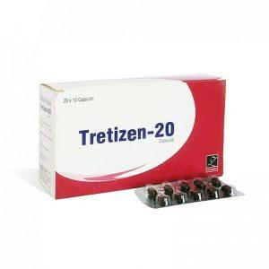 Isotretinoin  (Accutane) – Tretizen 20