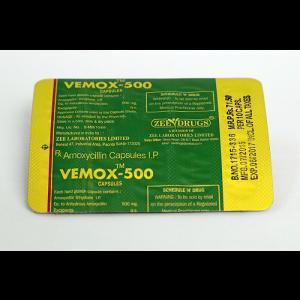 Amoxicillin – Vemox 500